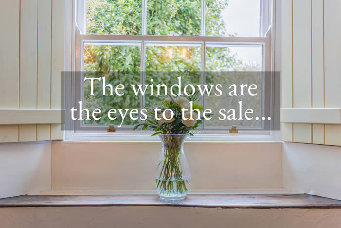 Windows are eyes to the sale